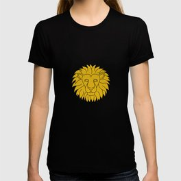 Leo Zodiac / Lion Star Sign Poster T-shirt