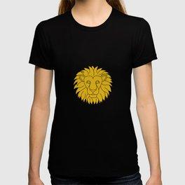 Leo Zodiac / Lion Star Sign Poster T-shirt
