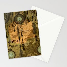 Time Passage Stationery Cards