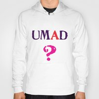 mad Hoodies featuring mad? by snorkdesign