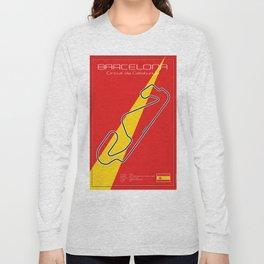 Barcelona Racetrack Long Sleeve T-shirt