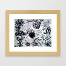 Brushed Framed Art Print