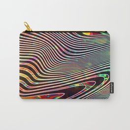 trippy line Carry-All Pouch