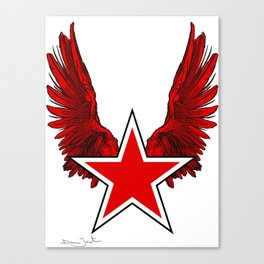 Star Wings Canvas Print