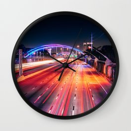 Southern Lights Wall Clock