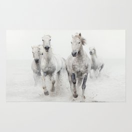 Ghost Riders - Horse Art Rug