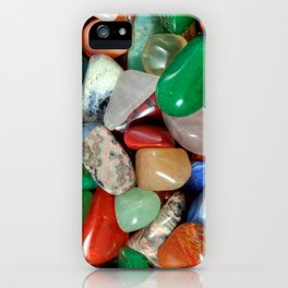 Colorful Stones Texture iPhone Case