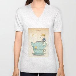 Tea Fishing Unisex V-Neck