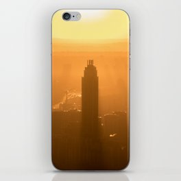 City Sunset iPhone Skin