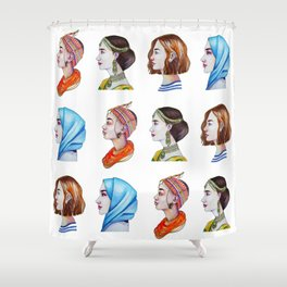 Women for the world Shower Curtain