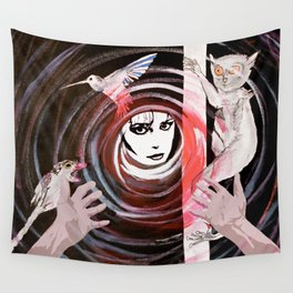 Relationship in peril Wall Tapestry