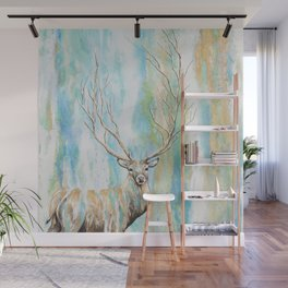 Deer Tree Wall Mural