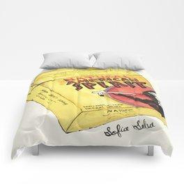 American Spirit Cigarettes Yellow Comforters