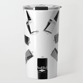 Gives you Wings Black And White Travel Mug