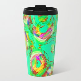 Abstract HJ Y Travel Mug