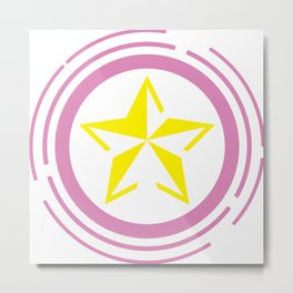 Star Magic Metal Print