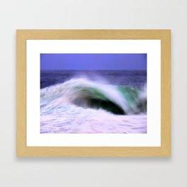 The Moving Ocean Framed Art Print