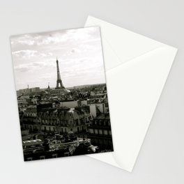 Paris Skyline  Stationery Cards