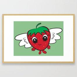 FlyBerry Kiddo Green Framed Art Print
