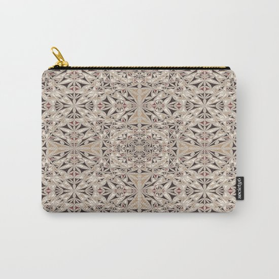 Cappuccino pattern Carry-All Pouch