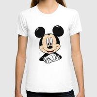 mickey T-shirts featuring Mickey by Yuliya L