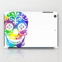 sugar skull iPad Cases featuring Sugar Skull by Diana Arend