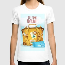 Travel Concept With Suitcase T-shirt