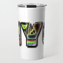 NYC (typography) Travel Mug