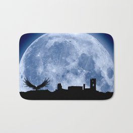 Tribute to the first flying man (Diego Marín Aguilera) in history Bath Mat