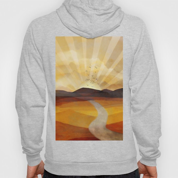 Desert in the Golden Sun Glow II Hoody