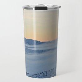 Pastel Sunrise Travel Mug