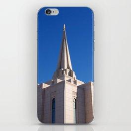 LDS Gilbert Temple iPhone Skin