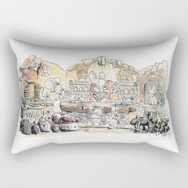 Thumbelina's house! Rectangular Pillow