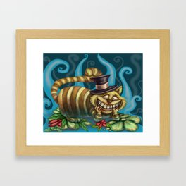 Cheshire Cat, Alice in Wonderland Framed Art Print