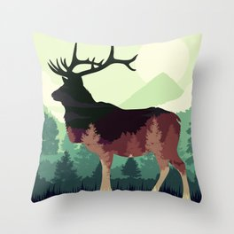 Difference  Throw Pillow