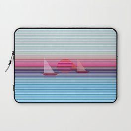 Sailing at sunset Laptop Sleeve
