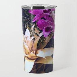 Orchids and Bromeliad Travel Mug