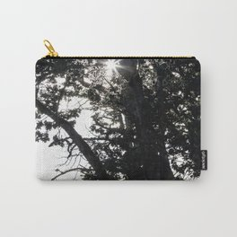 Grass Glowing Beneath A Tree Carry-All Pouch