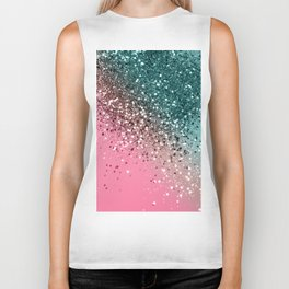 Tropical Watermelon Glitter #2 #decor #art #society6 Biker Tank