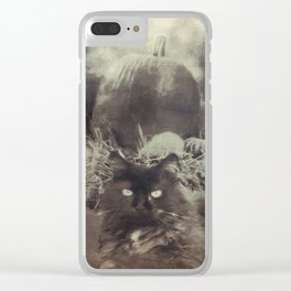 Old Days On The Farm Clear iPhone Case