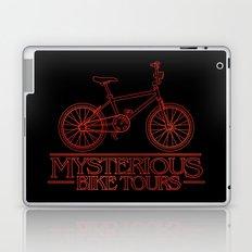Mysterious Bike Tours Laptop & iPad Skin