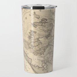 Vintage Map of Provincetown (1836) Travel Mug