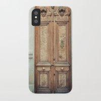 doors iPhone & iPod Cases featuring Doors by Nevena Kozekova
