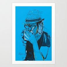 Digital Drawing #3 Art Print