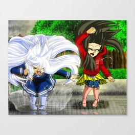 Rainy Fun Canvas Print