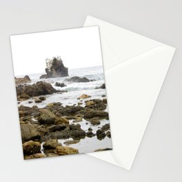 Rock Arch at Crystal Cove, Newport Beach, California Stationery Cards