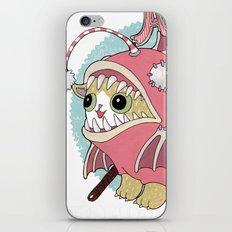 Aqua cat_Muka iPhone & iPod Skin