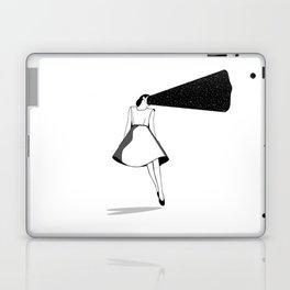 Listen to her space Laptop & iPad Skin