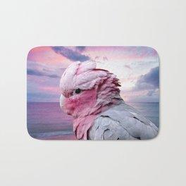 Pink Galah Cockatoo Bath Mat
