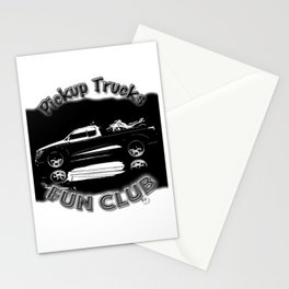 The Pick-Up Trucks Fun Club Stationery Cards